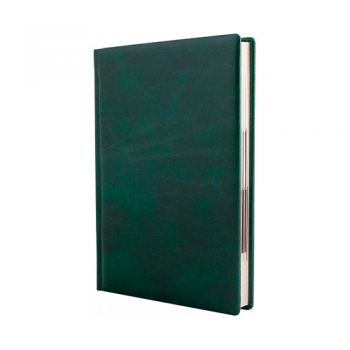 Дневник полудатированный, А5, FANTASY, зеленый