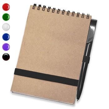 Блокнот А6 + ручка (Крафт)