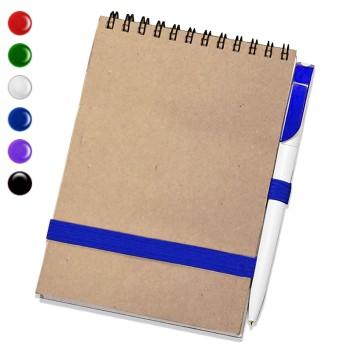 Блокнот А5 + ручка (Крафт)