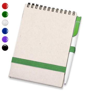 Блокнот А 5 + ручка (Серый)