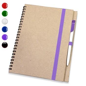 Блокнот А5 + ручка,(крафт)