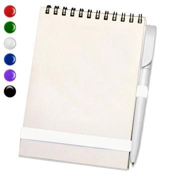 Блокнот А5 + ручка (Белый)